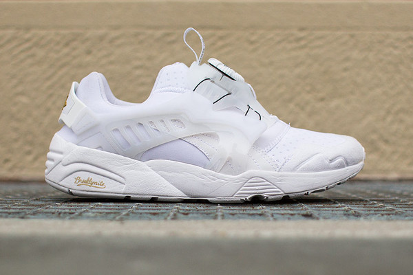 PUMA X SOPHIA CHANG DISC BLAZE BROOKLYNITE (WHITE & WHITE)-1