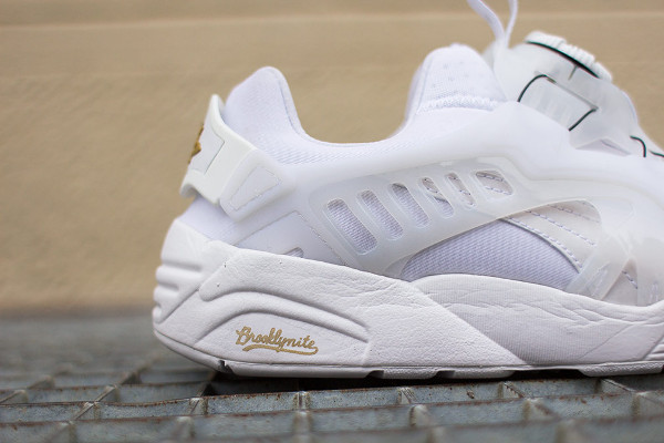 PUMA X SOPHIA CHANG DISC BLAZE BROOKLYNITE (WHITE & WHITE)-2