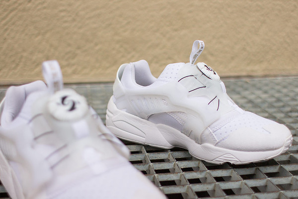 PUMA X SOPHIA CHANG DISC BLAZE BROOKLYNITE (WHITE & WHITE)-5