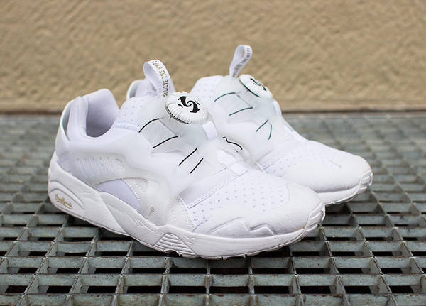 PUMA X SOPHIA CHANG DISC BLAZE BROOKLYNITE (WHITE & WHITE)-9