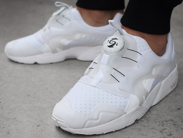 PUMA X SOPHIA CHANG DISC BLAZE BROOKLYNITE (WHITE & WHITE)