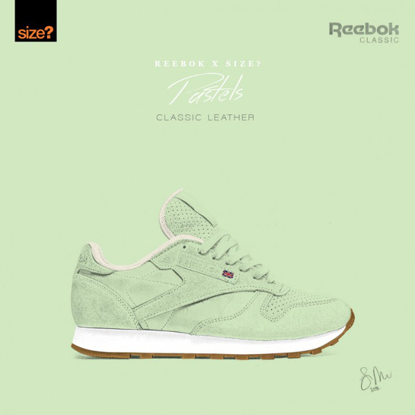 Reebok Classic Leather Pastels 'Seaglass' (1)