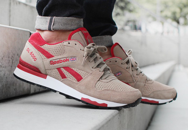 Reebok GL 6000 Canvas Excellent Red (10)