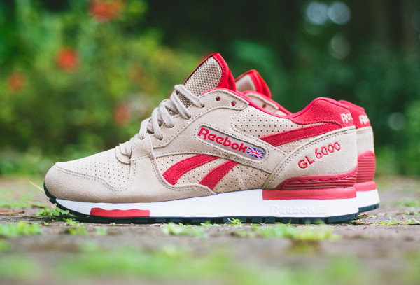 Reebok GL 6000 Canvas Excellent Red (2)