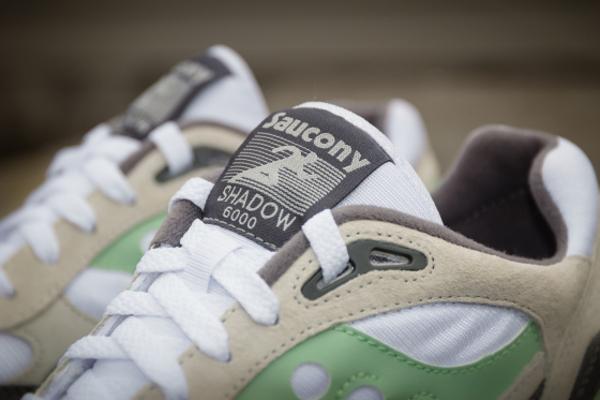 Saucony Shadow 6000 Running Man White Grey Mint  (5)