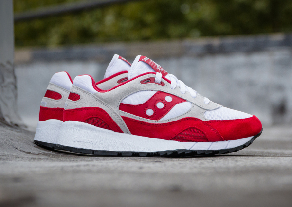 Saucony Shadow 6000 Running Man White Red  (1)