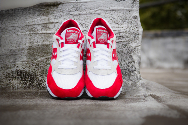 Saucony Shadow 6000 Running Man White Red  (3)