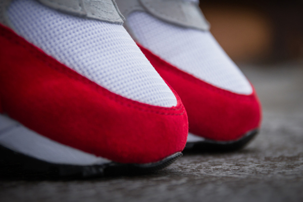 Saucony Shadow 6000 Running Man White Red  (4)