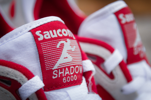 Saucony Shadow 6000 Running Man White Red  (6)