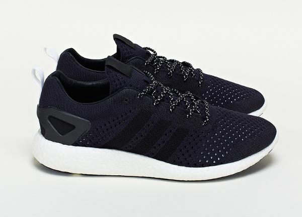adidas Consortium Primeknit Pure Boost Black (2)