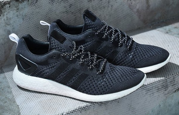 adidas Consortium Primeknit Pure Boost Black (3)
