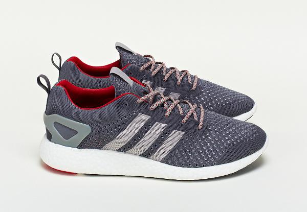 adidas Consortium Primeknit Pure Boost Grey (1)