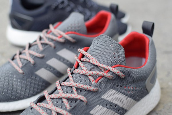 adidas Consortium Primeknit Pure Boost Grey (6-2)