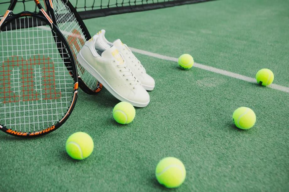 Adidas Stan Smith x Pharrell Williams Tennis Blanche (1)