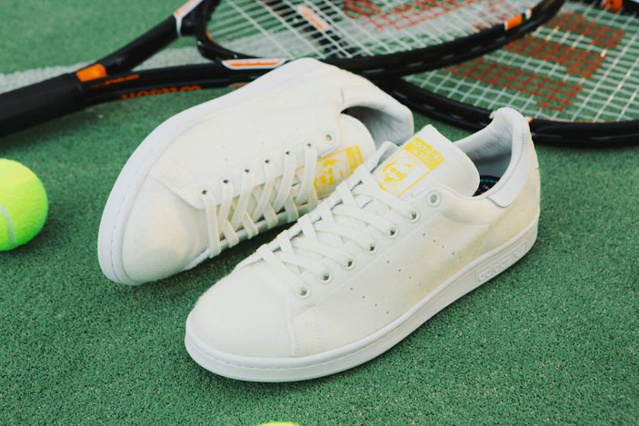 Adidas Stan Smith x Pharrell Williams Tennis Blanche (2)