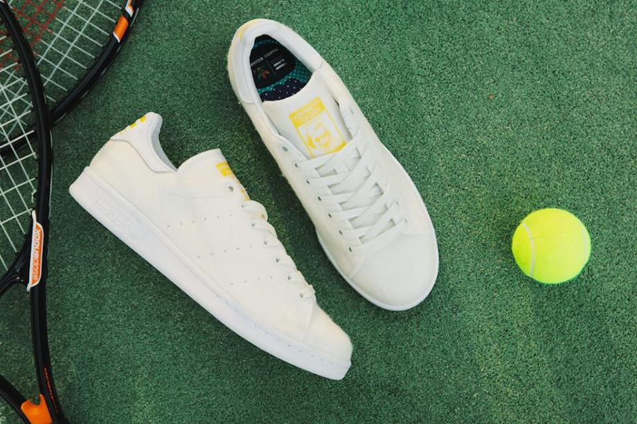 Adidas Stan Smith x Pharrell Williams Tennis Blanche (3)
