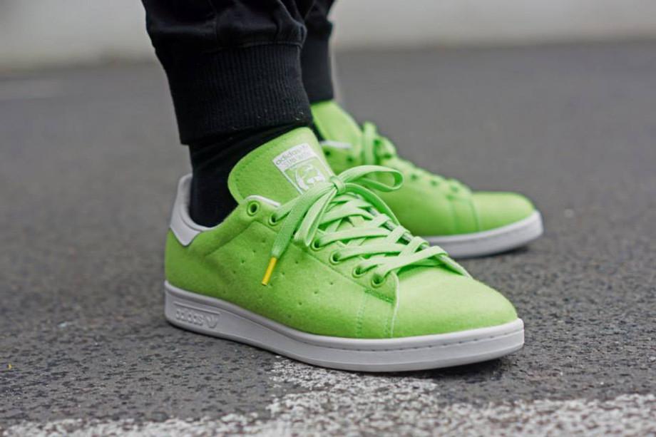 Adidas Stan Smith x Pharrell Williams Tennis Fluo (7)