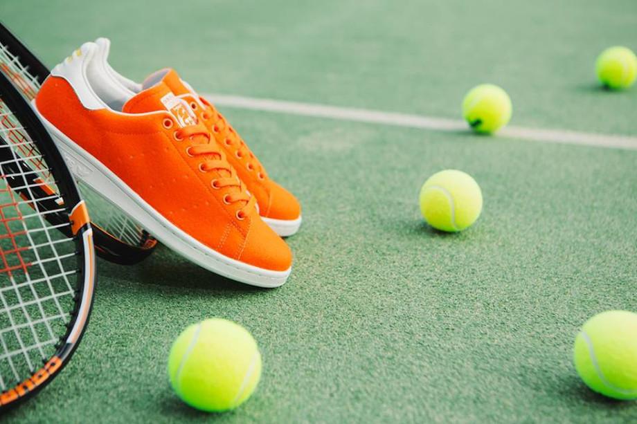 Adidas Stan Smith x Pharrell Williams Tennis Orange (1)