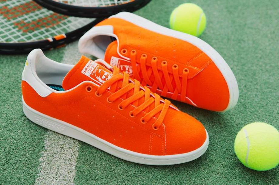 Adidas Stan Smith x Pharrell Williams Tennis Orange (2)