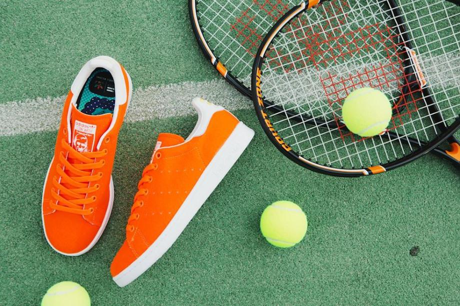 Adidas Stan Smith x Pharrell Williams Tennis Orange (4)