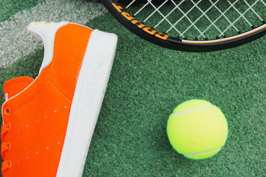 Adidas Stan Smith x Pharrell Williams Tennis Orange (5)