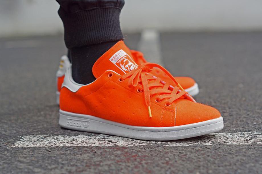 Adidas Stan Smith x Pharrell Williams Tennis Orange (6)
