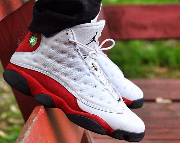Air Jordan 13 White Black True Red - Rancell