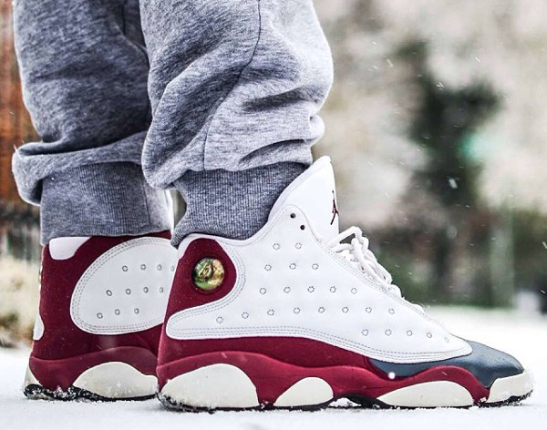 Air Jordan 13 White Team Red Flint Grey (2005) - Ogkream