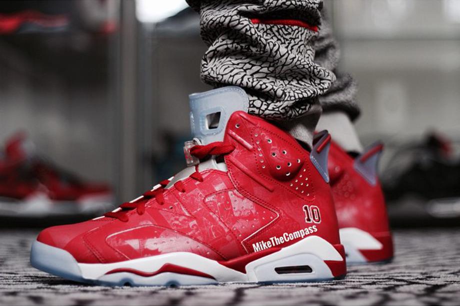 Air Jordan 6 Retro Rouge 10 'Slam Dunk'