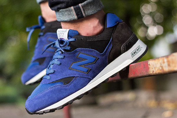 New Balance M577 Green & Blue
