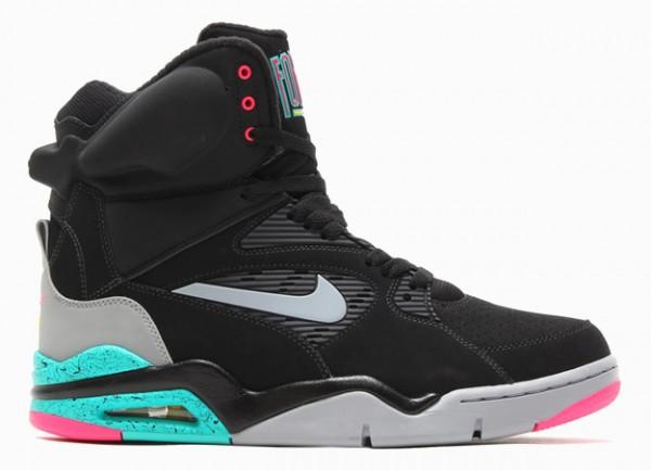 Nike Air Command Force Black & Hyper Jade