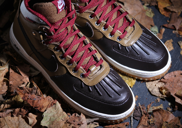 Nike Air Force 1 Duckboot Black Gum Light Brown (2)