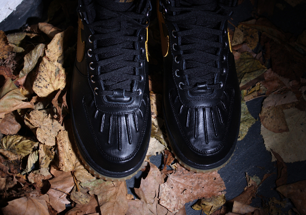 Nike Air Force 1 Duckboot Black Gum Light Brown (4)