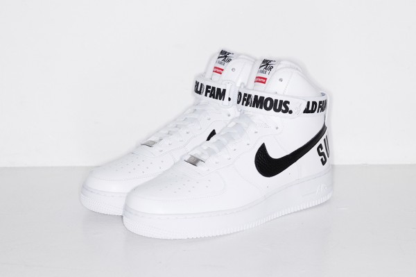 Nike Air Force 1 High x Supreme 'Famous World'-3