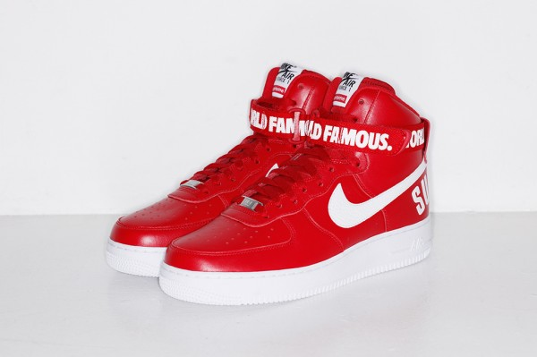 Nike Air Force 1 High x Supreme 'Famous World'-4