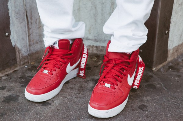Nike Air Force 1 High x Supreme 'Famous World'-5