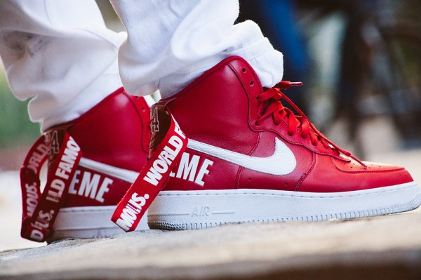 Nike Air Force 1 High x Supreme 'Famous World'-6