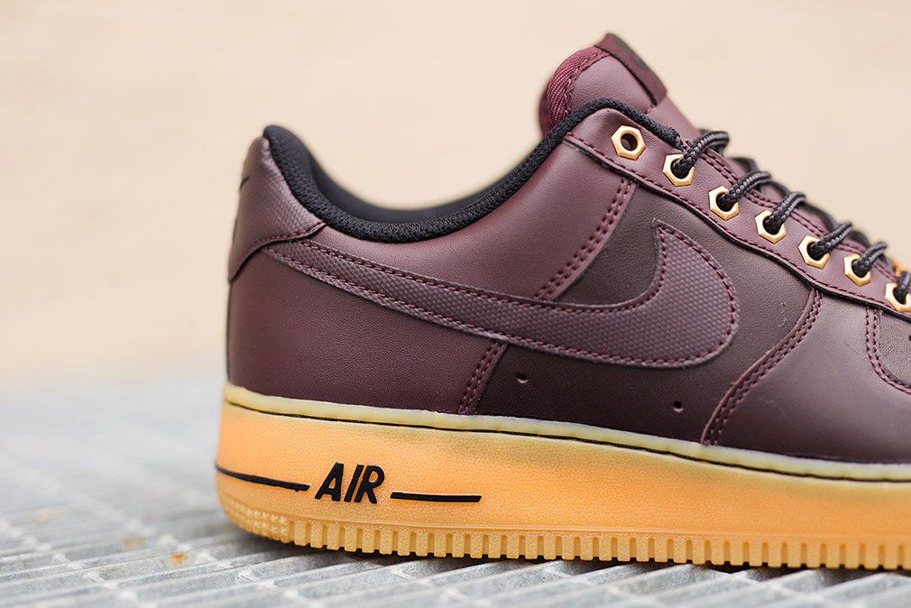 Nike Air Force 1 Low (Deep Burgundy Light Brown)