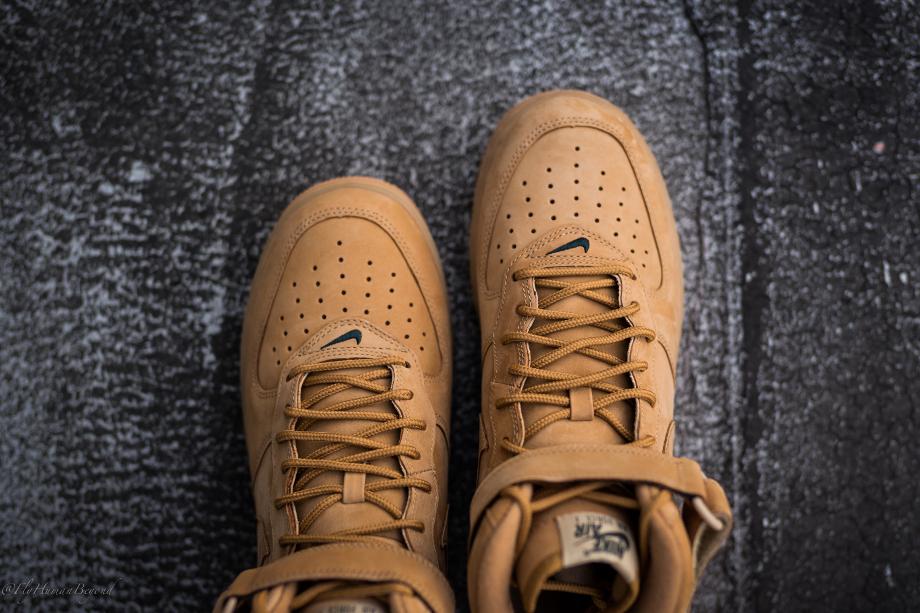 Nike Air Force 1 Mid Flax Wheat (4)