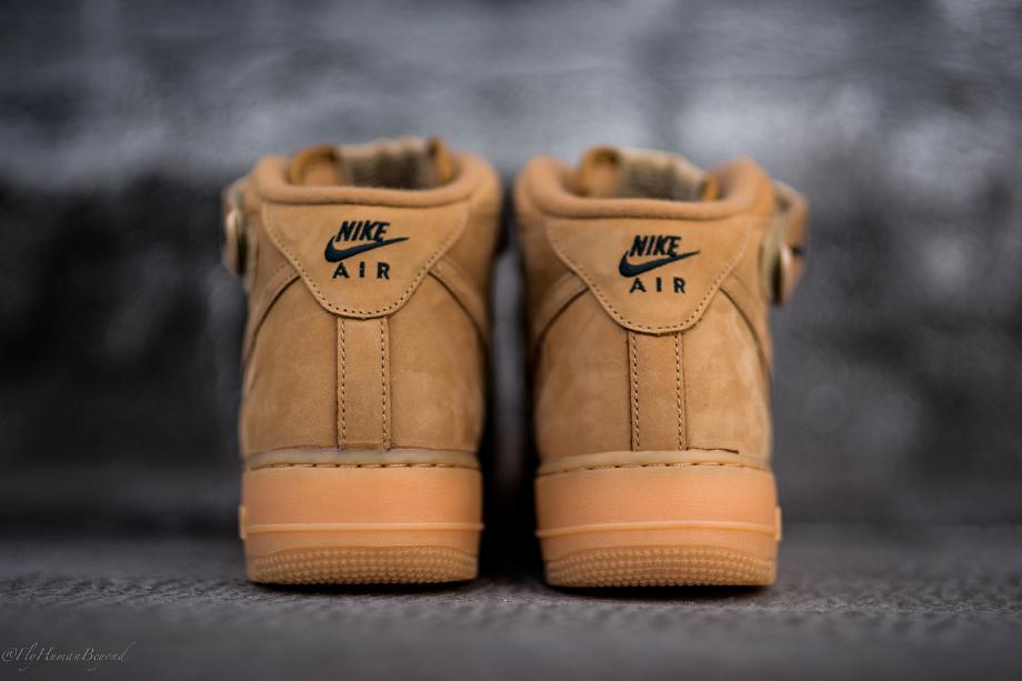 Nike Air Force 1 Mid Flax Wheat (7)