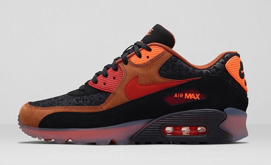 822642e8feb3 ... Où acheter la Nike Air Max 90 Ice Halloween (Orange) ...