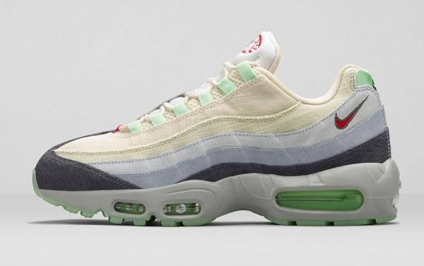 Nike Air Max 95 Halloween (Beige Green) (11)