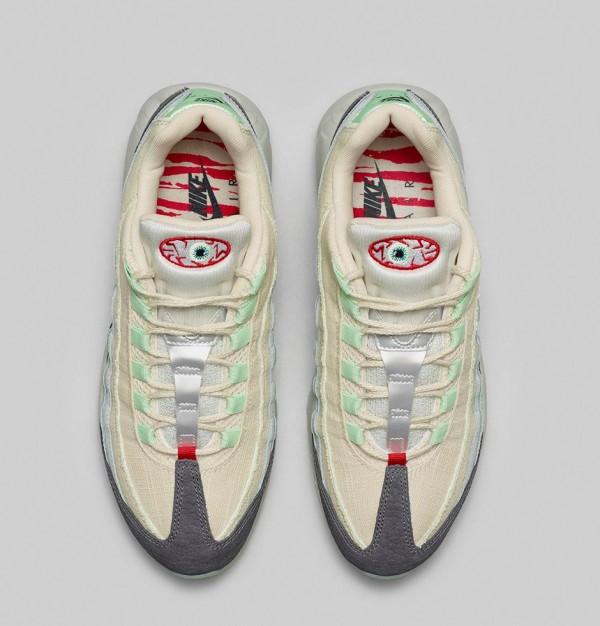 Nike Air Max 95 Halloween (Beige Green) (12)