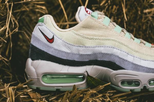Nike Air Max 95 Halloween (Beige Green) (8)