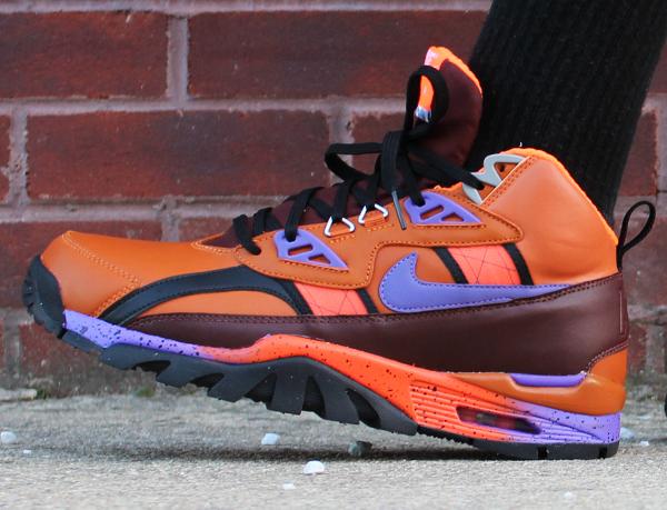 Nike Air Trainer SC Sneakerboot Tuscan Rust Hyper Grape-Barkroot Brown (6)