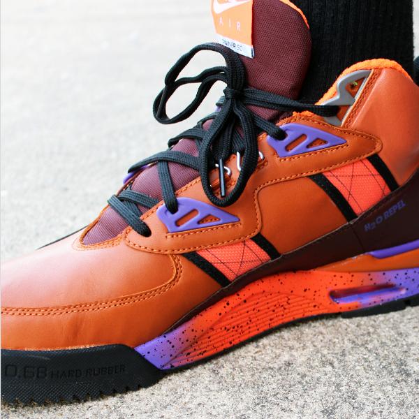 Nike Air Trainer SC Sneakerboot Tuscan Rust Hyper Grape-Barkroot Brown (8)