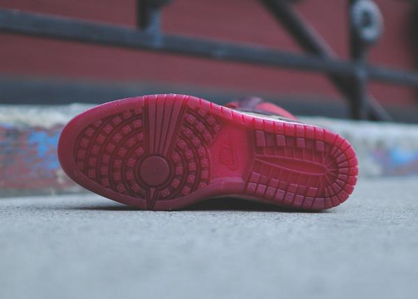 Nike Dunk Sky High Sneakerboots 2.0 (Burgundy Iridescent) (3)