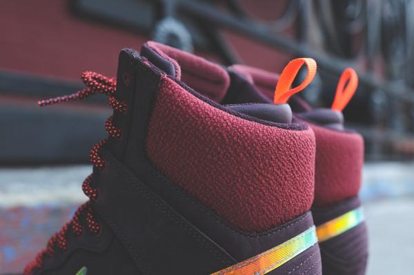 Nike Dunk Sky High Sneakerboots 2.0 (Burgundy Iridescent) 8