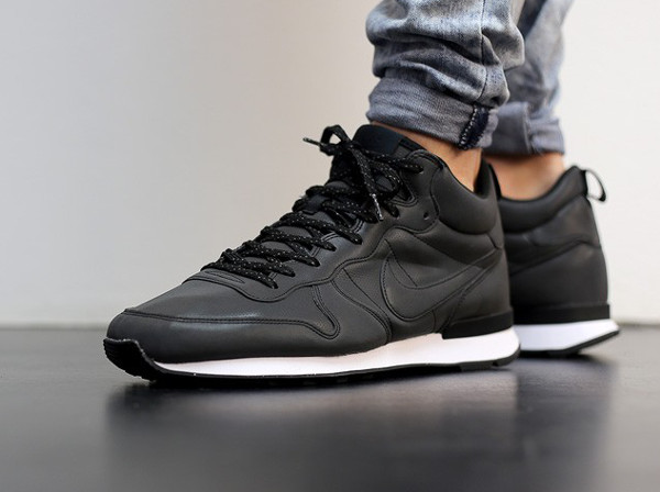 nike internationalist mid homme kaki