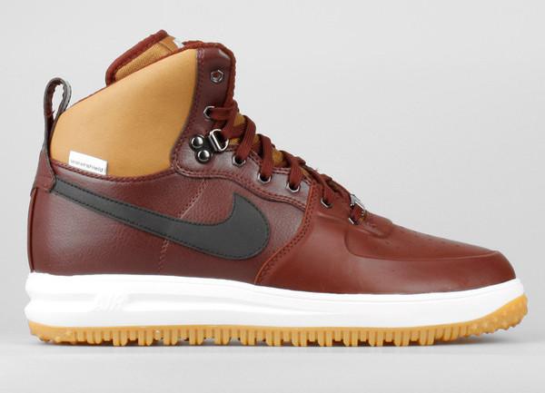 premium selection 25110 8f58e Nike Lunar Force 1 Hi Sneakerboots (Barkroot Brown)
